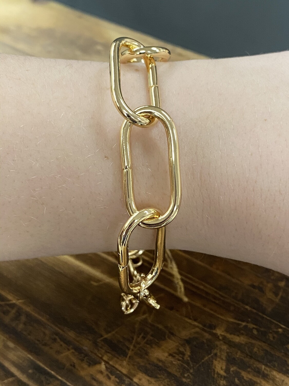 """Chain Clasp 7.5"""" Bracelet"""