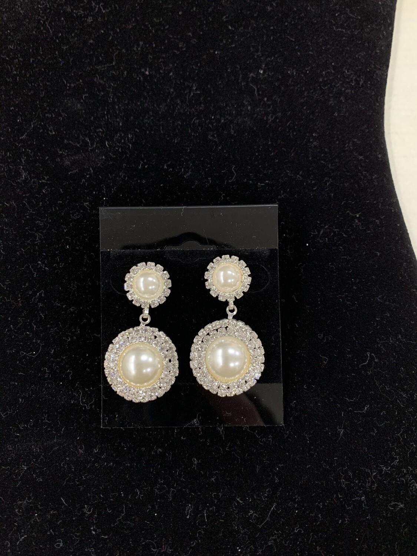 Sil/prl Eve Earrings
