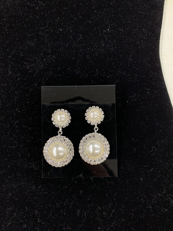 Sil/prl Eve Earrings