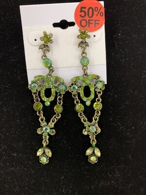 Pageant Earrings Short Dangle