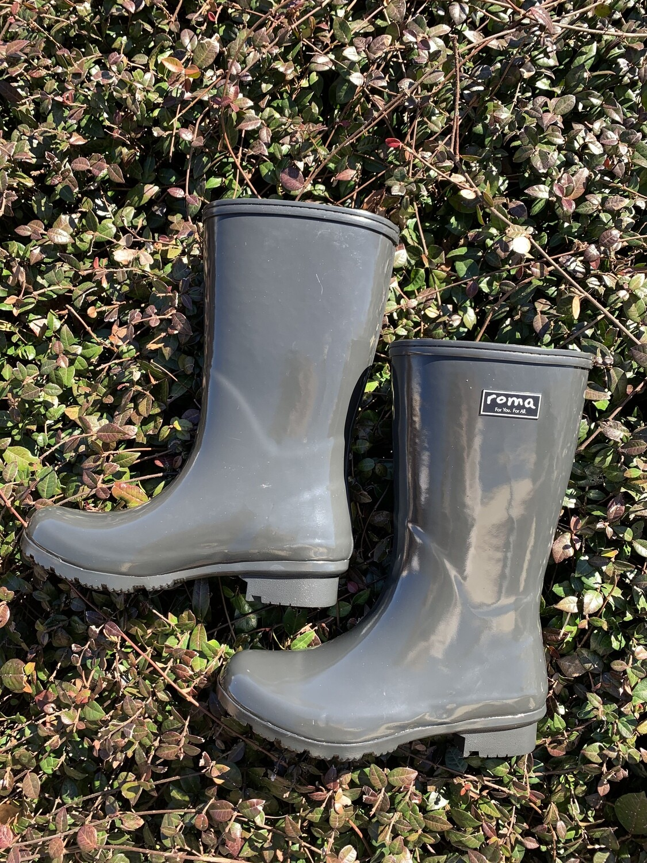 Roma Tall Gray Boots