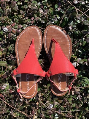Corkys Michelle Red Sandals