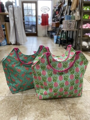 Printed Beach Bag