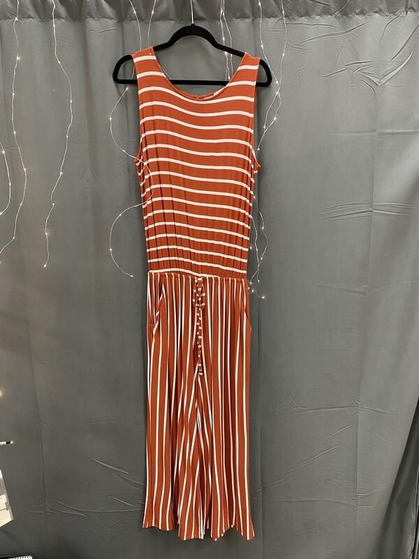 Midi Jumper Pumpkin Striped