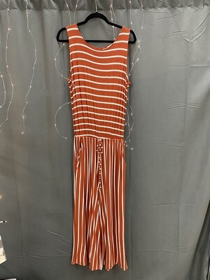 Midi Jumper Pumpkin Striped
