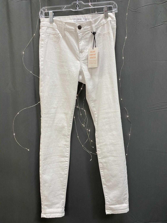 Jeans Cello White Skinny