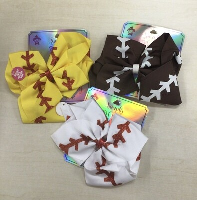 Simply Southern Sports Hairbow