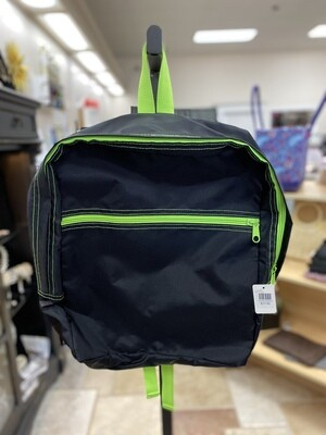 Lime/Black Backpack