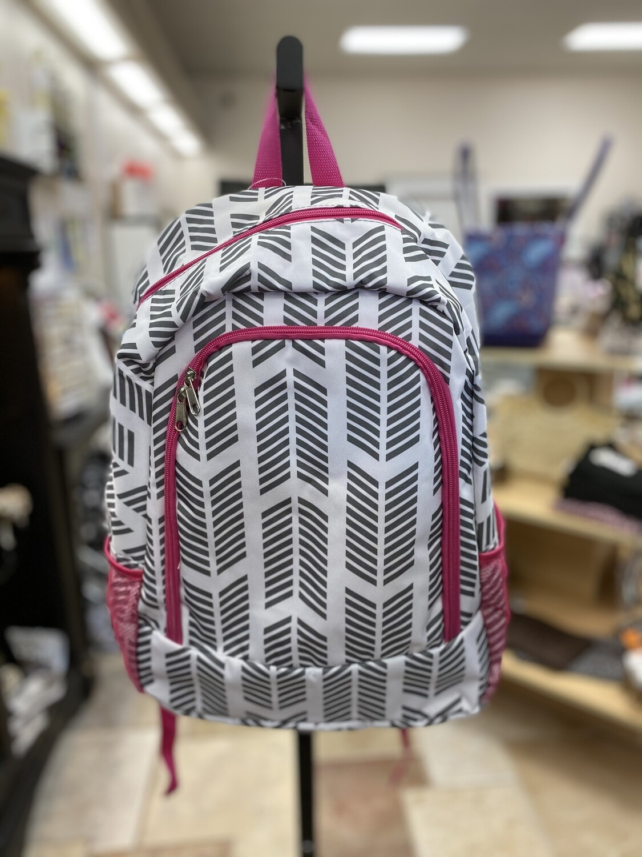 Patterned Backpacks
