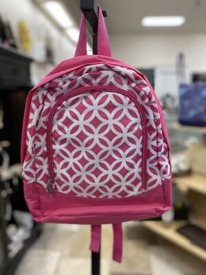 Pink/White Preschool Backpack