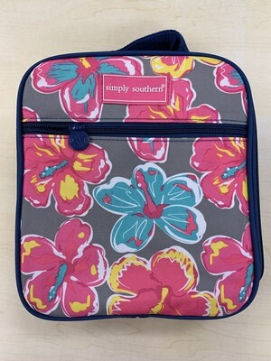Simply Southern Floral Lunch Box