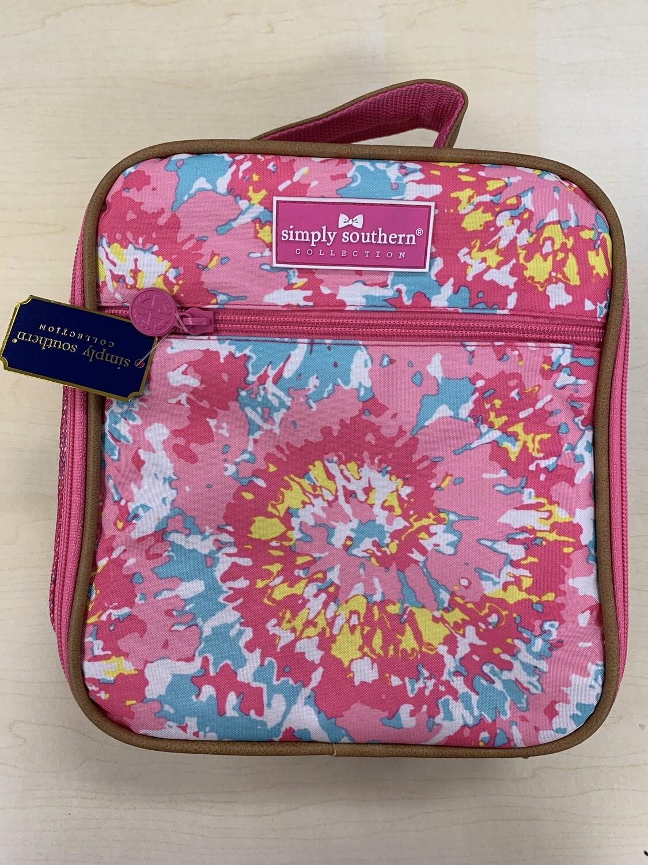 Simply Southern Tie Dye Lunchbox