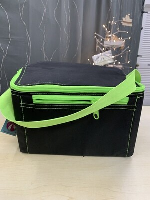 Lime/Black Lunch Tote