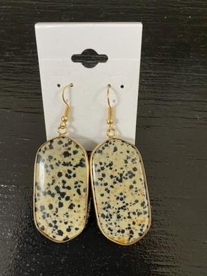 Speckled Stone Earrings