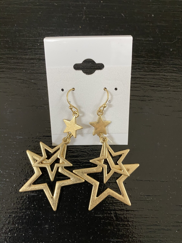 Star Dangling Earring