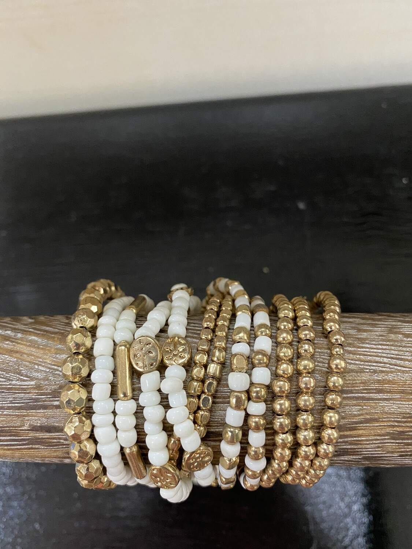 Bracelet Set Gold