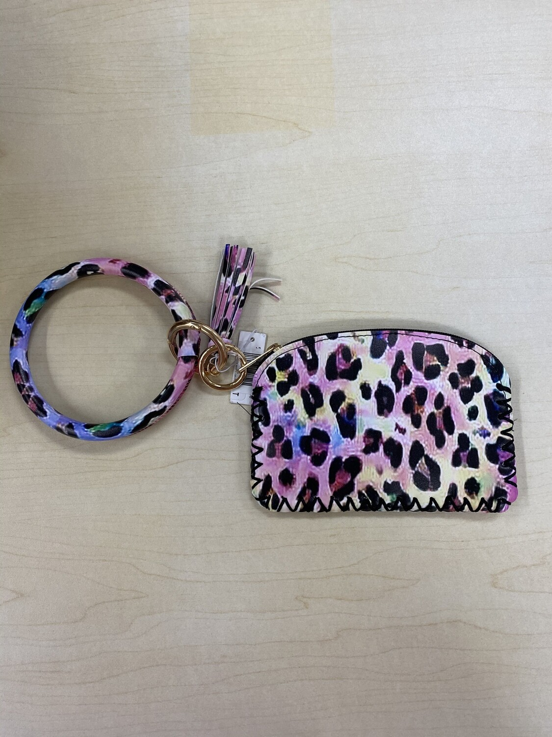 Bright Bangle with Coin Pouch