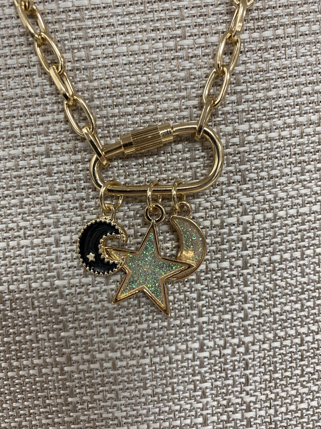 Gold Chain Star Charm Necklace