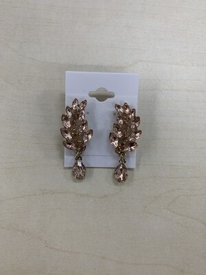 Formal Earrings Rose Gold XS