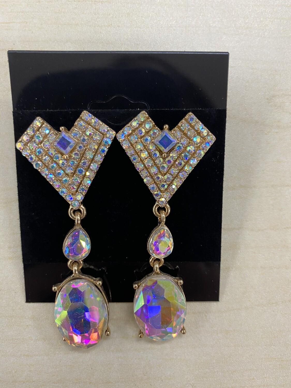 Formal Earrings Gold AB V
