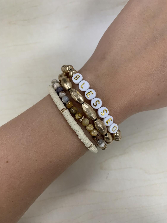 Bracelet 4 Set With Saying