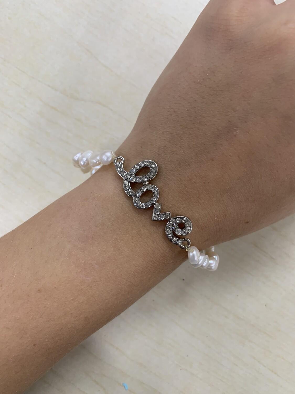 Love Pearl Bracelet