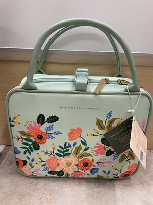 Corckcicle Lunchbox Mint Lively Floral