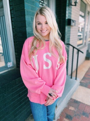 USA Relaxed Fit Sweatshirt