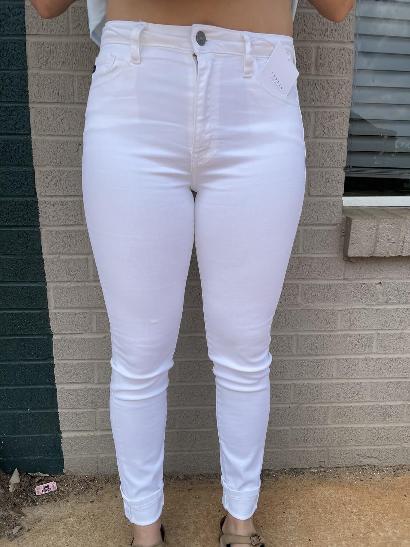 KanCan White High Rise Super Skinny Jeggings