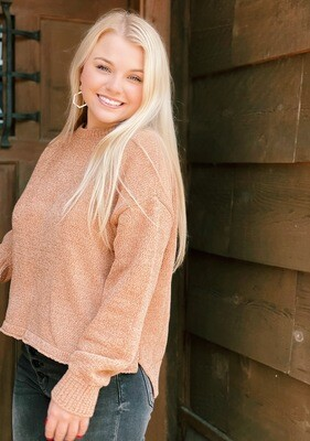 Chenille Crewneck Sweater Simply Southern