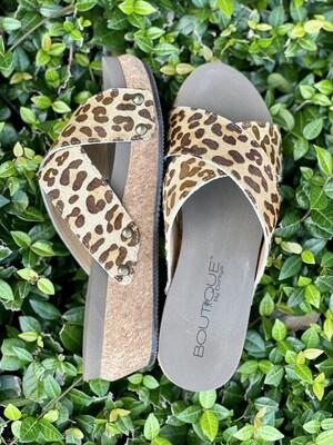 Corkys Hazel Too Leopard Sandals