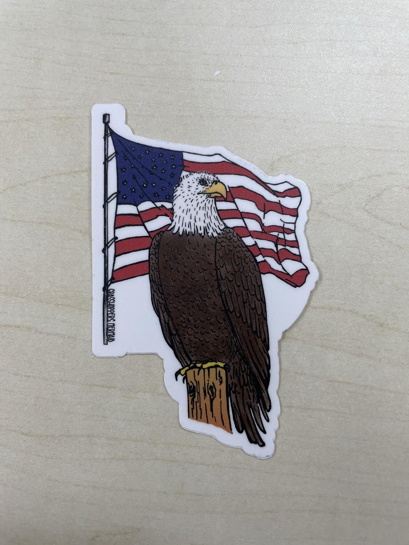 Eagle USA Sticker