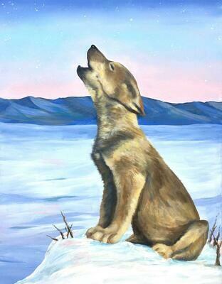 Wolf Puppy Howl