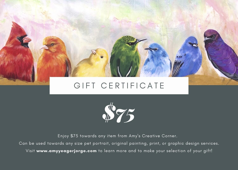 Gift Card $75