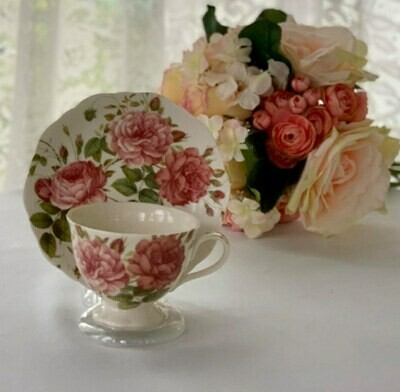 Hampstead Rose Tea Cup and Saucer