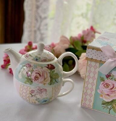 Rose Mist Tea For One