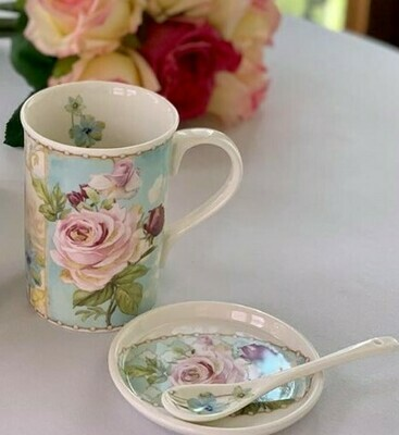 Rose Mist Mug Set