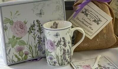 Lavender Rose Mug Set