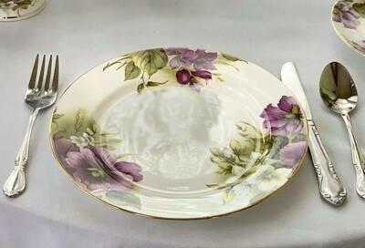 Pansies Plate