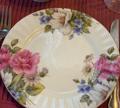 Grace's Rose Plate
