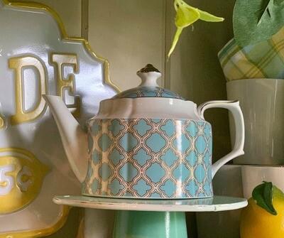 Santorini Tea Pot