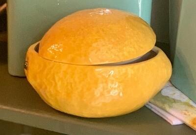 Lemon Serving Dish