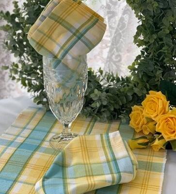 Summer Lemon Table Runner