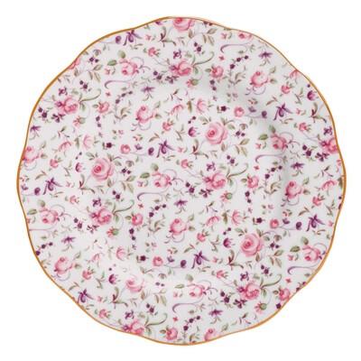Confetti Rose Salad Plate