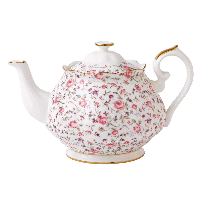 Confetti Rose Tea Pot
