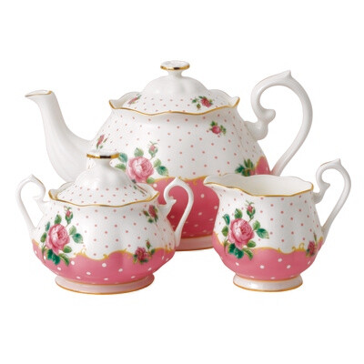 Cheeky Pink Tea Set