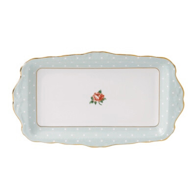 Polka Rose Sandwich Tray