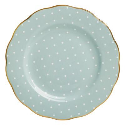 Polka Rose Salad Plate