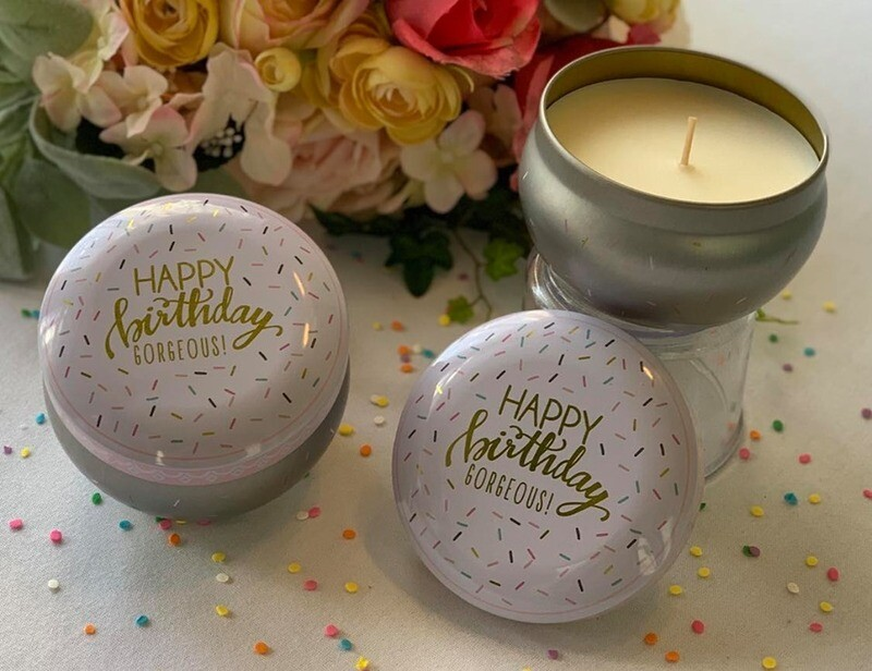 Happy Birthday Gorgeous Candle