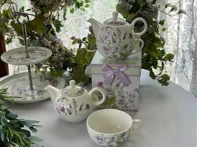 Lavender Rose Tea For One